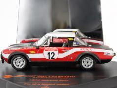 Fiat 124 Abarth #12 2nd Rallye San Remo 1973 Verini, Torriani 1:43 Vitesse