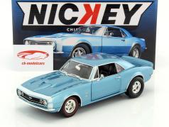 Chevrolet Camaro 427SS Nickey year 1967 marina blue 1:18 GMP