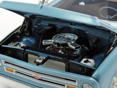 Chevrolet C10 Pick-up Nickey year 1967 marina blue 1:18 GMP