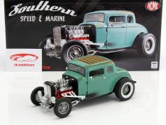 Ford 5 Window Southern Speed & Marine year 1932 green blue 1:18 GMP