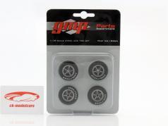 Chevrolet Camaro Z/28 Wheel & Tire Set 1:18 GMP