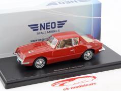 Studebaker Avanti year 1963 red 1:43 Neo