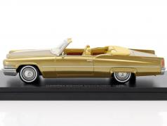 Cadillac DeVille Convertible year 1970 gold 1:43 Neo