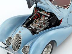Talbot Lago Coupe T150 C-SS Teardrop Figoni & Falaschi year 1937-1939 light blue metallic 1:18 CMC