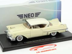 Cadillac Series 62 HT Coupe year 1957 beige 1:43 Neo