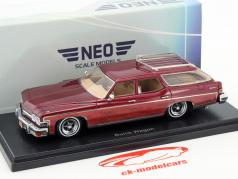 Buick Le Sabre Estate Wagon dark red 1:43 Neo
