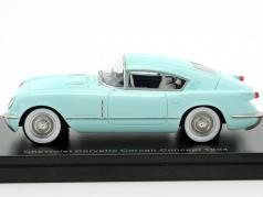 Chevrolet Corvette Corvair Concept year 1954 light blue 1:43 Neo