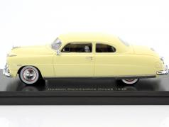 Hudson Commodore coupe year 1948 light beige 1:43 Neo