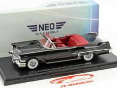Cadillac Series 62 Convertible year 1957 black 1:43 Neo