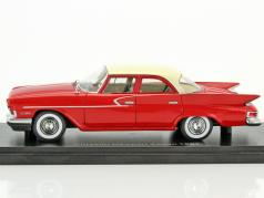 Chrysler Newport Sedan year 1961 red / white 1:43 Neo