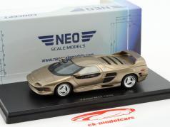 Vector WX3 M12 year 1999 beige metallic 1:43 Neo