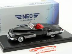 Buick Y-Job Concept Car year 1938 black 1:43 Neo