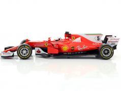 Sebastian Vettel Ferrari SF70H #5 formule 1 2017 1:18 Bburago