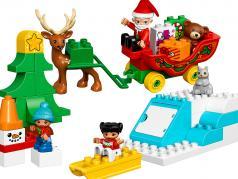 LEGO® DUPLO® Winterspaß mit dem Weihnachtsmann