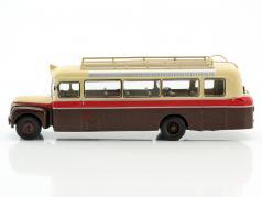 Citroen 46 DP UAD Bus Baujahr 1955 braun / rot / beige 1:43 Altaya