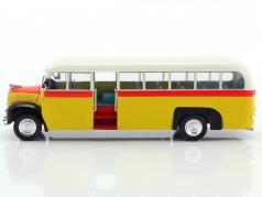 Ford Thames ET7 Bus Baujahr 1952 gelb / rot / weiß 1:43 Altaya