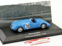 Simca 8 Gordini #39 24h LeMans 1939 Scaron, Gordini 1:43 Atlas