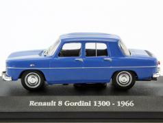 Renault 8 Gordini 1300 Baujahr 1966 blau / weiß 1:43 Atlas