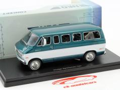 Dodge Sportsman Van year 1973 green metallic / white 1:43 Neo