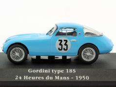 Gordini Type 18S #33 24h LeMans 1950 Fangio, Gonzales 1:43 Atlas