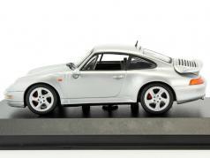 Porsche 911 (993) Turbo year 1997 silver metallic 1:43 Minichamps