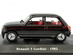 Renault 5 Gordini Baujahr 1982 schwarz / rot 1:43 Atlas