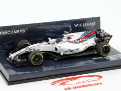 L. Stroll #18 Williams FW40 Martini Racing formula 1 2017 1:43 Minichamps