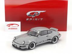 Porsche RWB 964 Duck Tail gray 1:18 GT-Spirit
