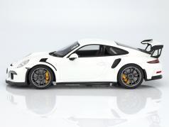 Porsche 911 (991) GT3 RS двухместная карета Год постройки 2016 белый 1:12 GT-Spirit