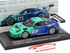 Porsche 911 (991) GT3 R #44 Falken Motorsports 24h Nürburgring 2017 1:43 Minichamps