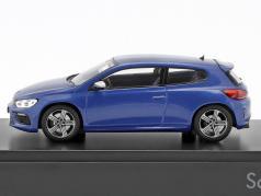 Volkswagen VW Scirocco R blau metallic 1:43 Norev