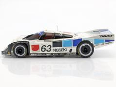 Porsche 962C #63 24h LeMans 1990 Fouche, Andskär, Kasuya 1:27 Kyosho