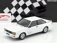 Audi Quattro Opførselsår 1980 hvid 1:18 Minichamps