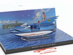 Batman Classic TV Series Boat blue / white 1:43 Altaya