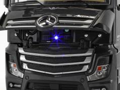 Mercedes-Benz Actros 2 Gigaspace 4x2 FH25 truck SZM black 1:18 NZG