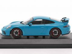 Porsche 911 (991) GT3 année 2017 Miami bleu 1:43 Minichamps