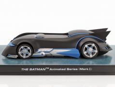 Batman Animated Series Batmobile Mark II sort / blå 1:43 Altaya