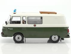 Barkas B 1000 half-bus police 1:18 Model Car Group