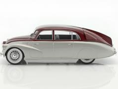 Tatra 87 silver / dark red 1:18 Model Car Group