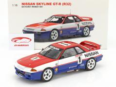 Nissan Skyline GT-R (R32) #1 Bathurst Vinder 1991 Skaife, Richards 1:18 AUTOart