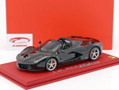 Ferrari LaFerrari Aperta preto 1:18 BBR