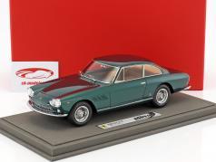 Ferrari 330 GT pessoal carro Enzo Ferrari ano de construção 1963 com mostruário verde 1:18 BBR