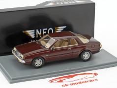 Mitsubishi Sapporo MKI Coupe ano de construção 1982 castanho escuro metálico 1:43 Neo