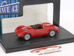 Sauter Porsche Bergspyder ano de construção 1957 vermelho 1:43 AutoCult