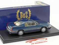 Cadillac Eldorado ano de construção 1992 azul metálico 1:43 BoS-Models