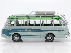 Setra S6 ônibus Kraichgau Falke resedá verde / verde 1:32 Schuco