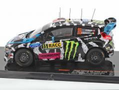 Ford Fiesta RS WRC #15 Rally Catalonia 2014 Block, Alessandro 1:43 Ixo