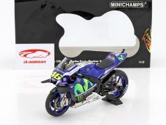 Valentino Rossi Yamaha YZR-M1 #46 vincitore MotoGP Catalunya 2016 1:12 Minichamps