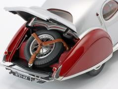 Talbot Lago Coupe Typ 150 C-SS Teardrop RHD year 1937-1939 red / silver 1:18 CMC