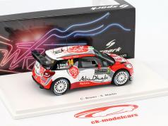 Citroen DS3 WRC #14 WRC Monte Carlo 2017 Breen, Martin 1:43 Spark